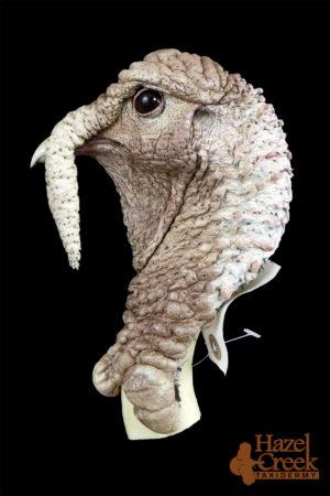 Unpainted Walking Turkey Head